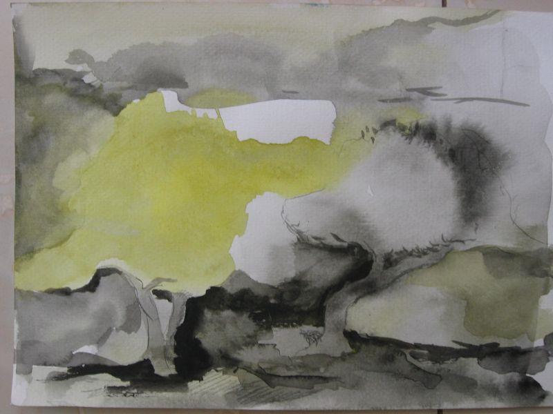 resized_water colours -45X35cm